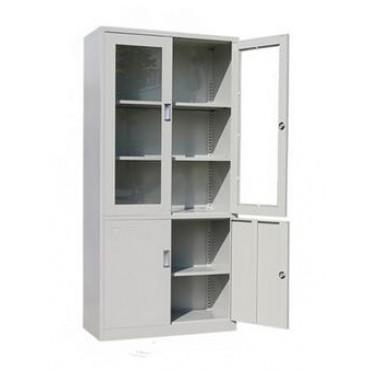 #大半玻璃书柜办公柜...