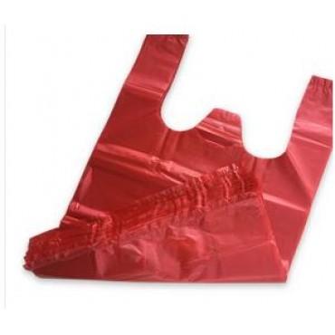 红色垃圾袋塑料袋手提...