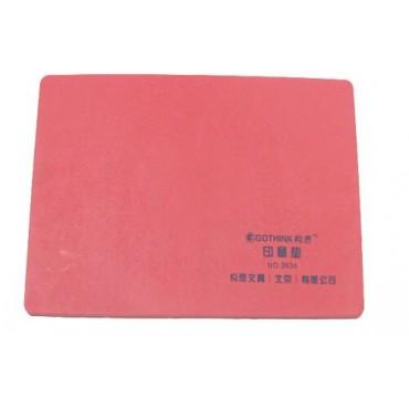 #构思红色软印章垫 ...