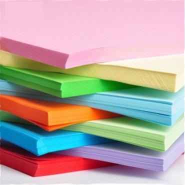 """彩色<strong style=""""color:red;"""">复印纸</strong>A3 纸彩纸手工折纸 70g  100张/包"""