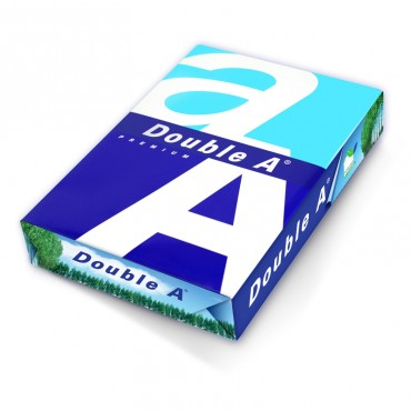 """DoubleA<strong style=""""color:red;"""">复印纸</strong> 达伯埃A4 打印不卡纸80g 5包/箱"""
