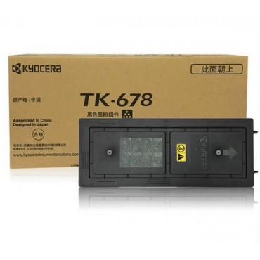 原装京瓷kyocera TK-678墨粉盒 碳粉 适用机型:KM2540 KM2560 KM3040 KM3060 KM300I