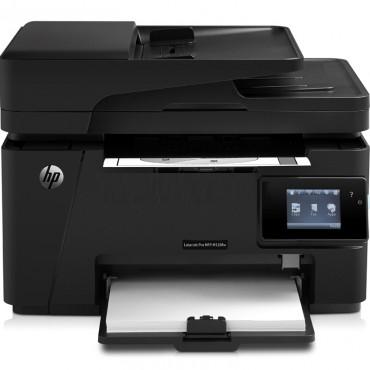 "惠普HP LaserJet MFP M128fw一体机A4 打印 <strong style=""color:red;"">复印机</strong>扫描传真 有线/无..."