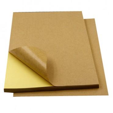 牛皮纸不干胶纸A4 ...