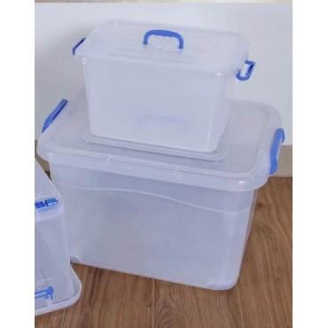 透明塑料收纳箱整理箱...